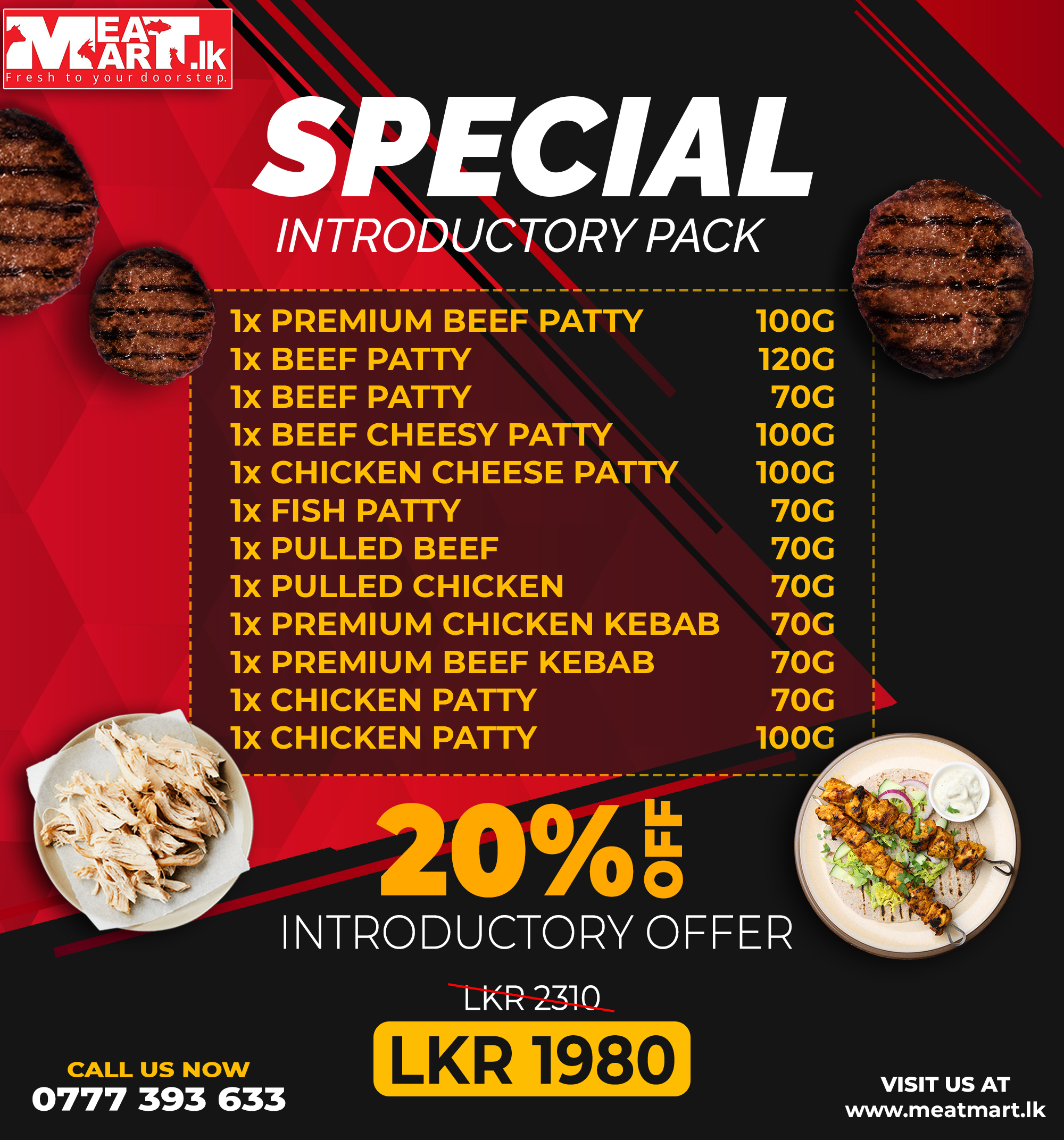 Special introductory pack